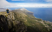 Vue de Table Mountain, Cape Town