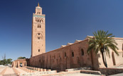 La mosque koutoubia a Marrakesh